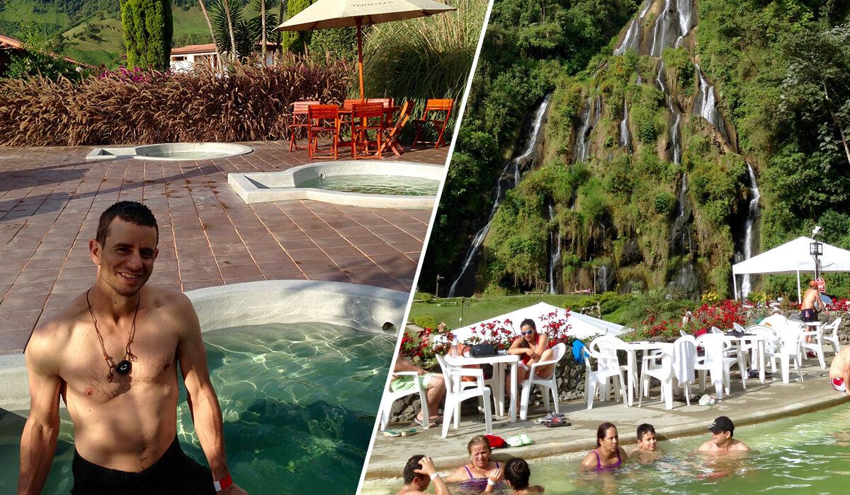 Los Otoños and Santa Rosa de Cabal hot springs