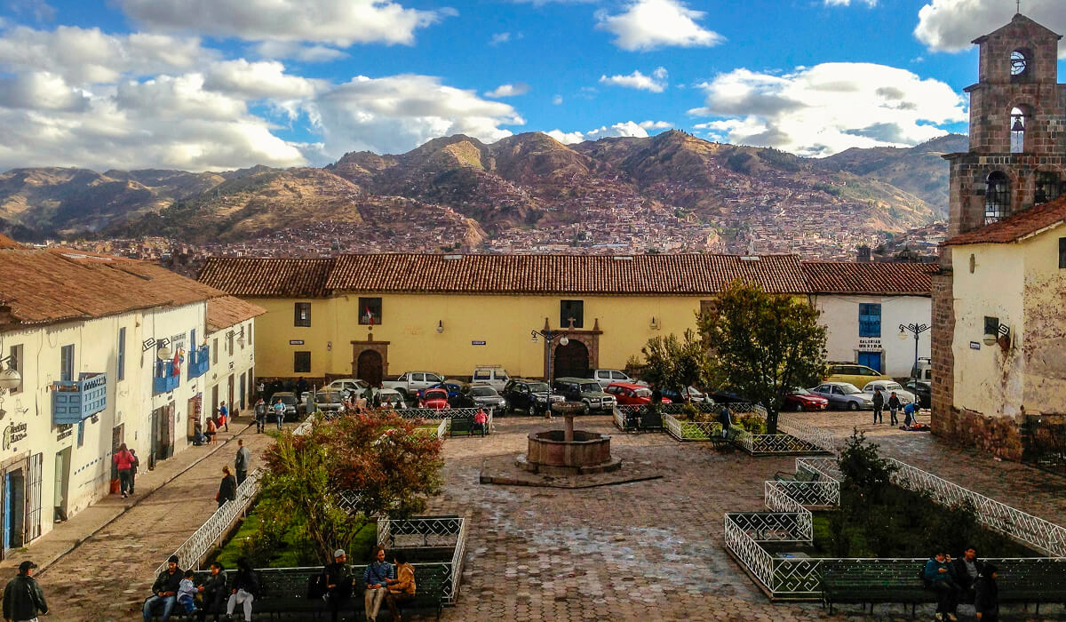 San Blas plaza, Cusco, Peru