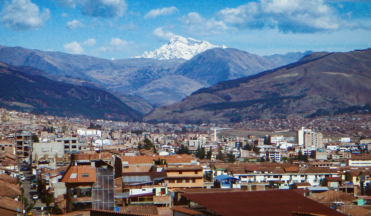 View of Ausangate, Cusco, Peru