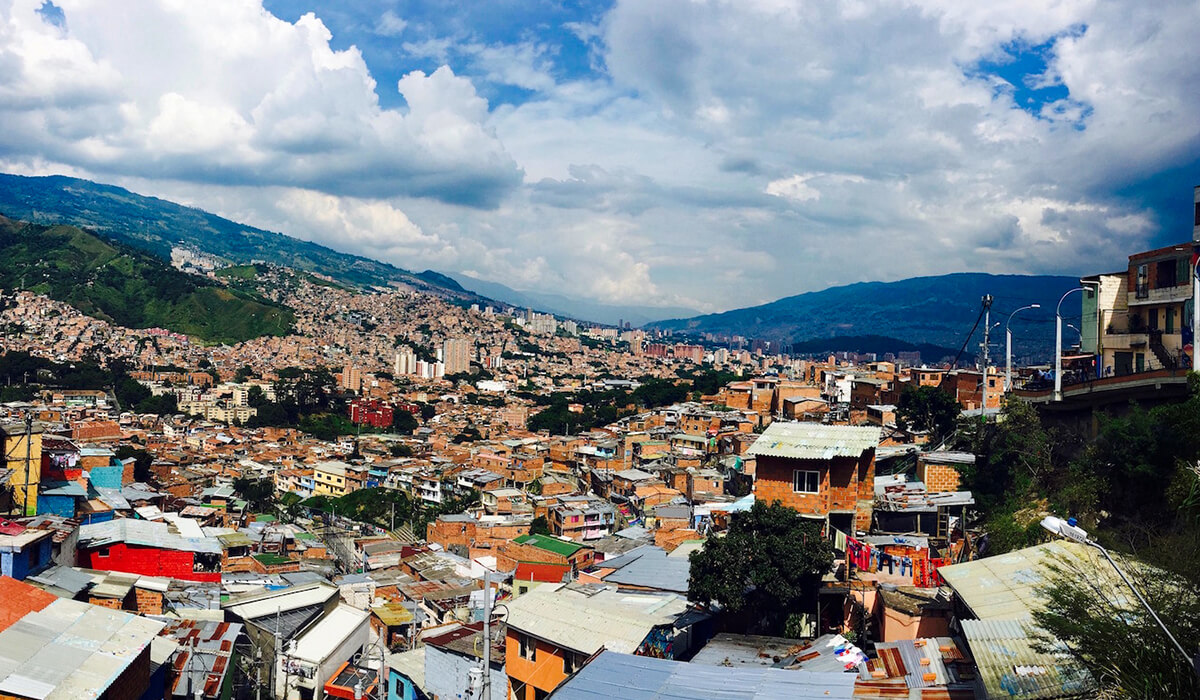 View of Medellin from Comuna 13
