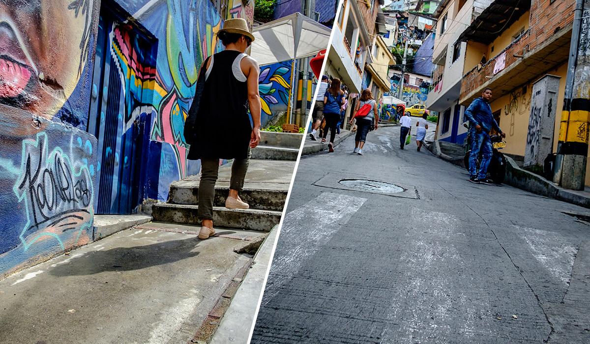 Exploring Comuna 13 in Medellin Colombia