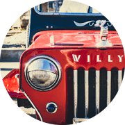 Willy Jeep in Colombia